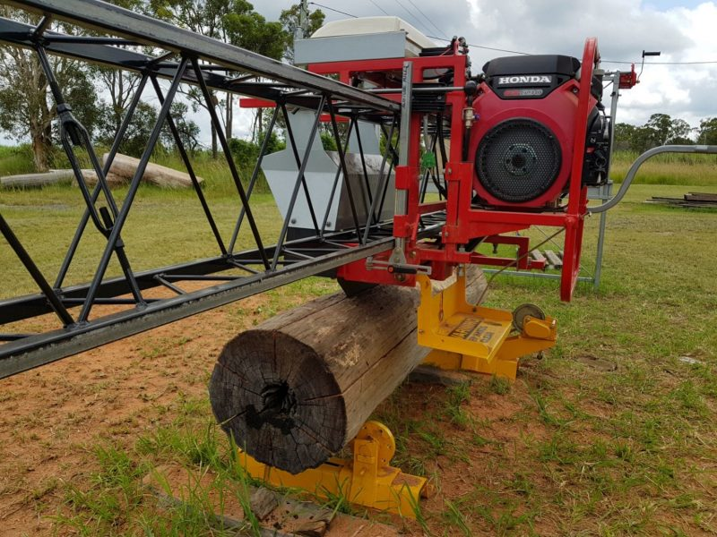 Goodwood Sawmill and Log Rotator